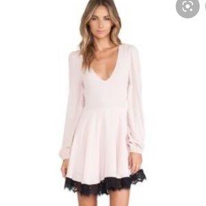 Lovers + Friends Blush Long Sleeve Dress